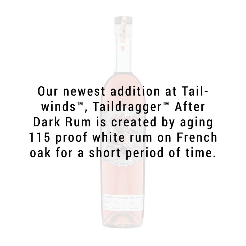 Tailwinds Distilling Taildragger After Dark Rum 750ml