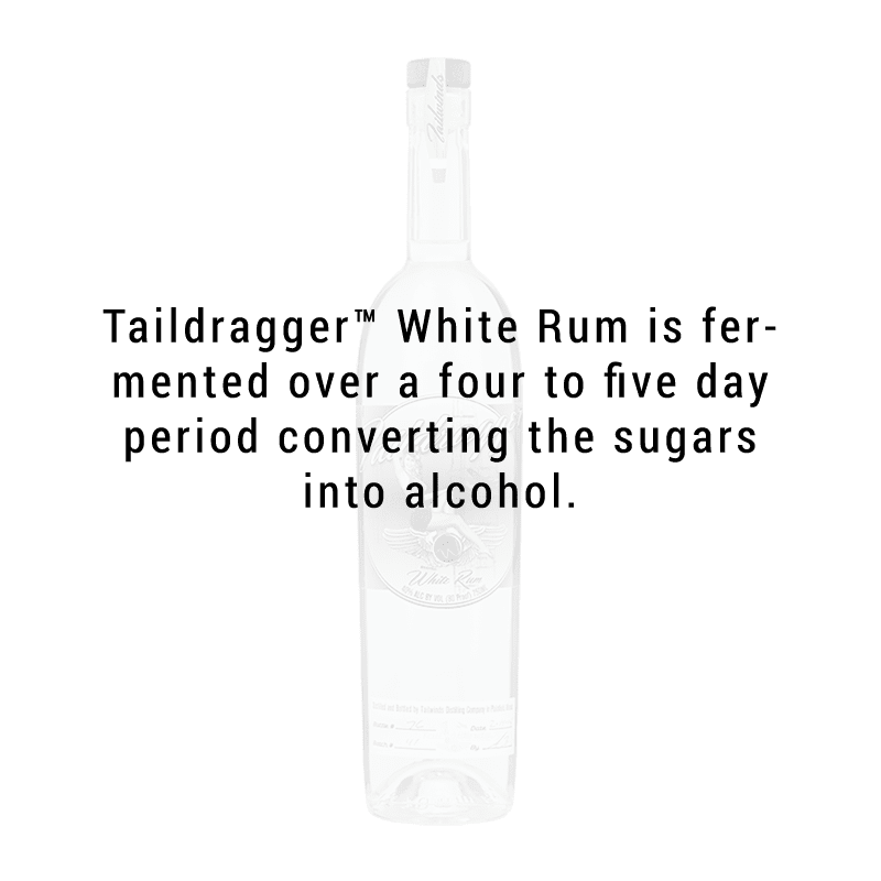 Tailwinds Distilling Taildragger White Rum 750ml