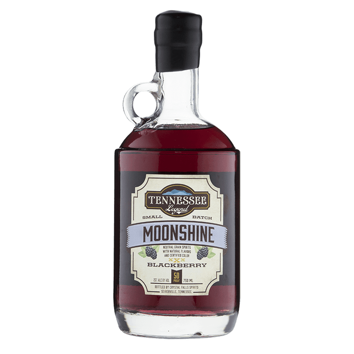 Tennessee Legend Blackberry Moonshine 750mL great american craft spirits buy online