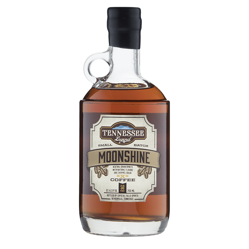 Tennessee Legend Coffee Moonshine 750mL buy online great american craft spirits