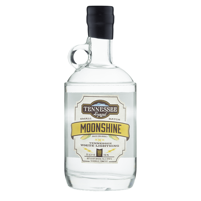 Tennessee Legend White Lightning Tennessee Moonshine 750mL buy online great american craft spirits