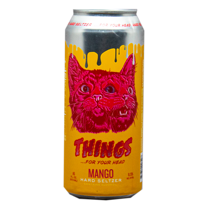 Things For Your Head Mango Hard Seltzer 16.oz