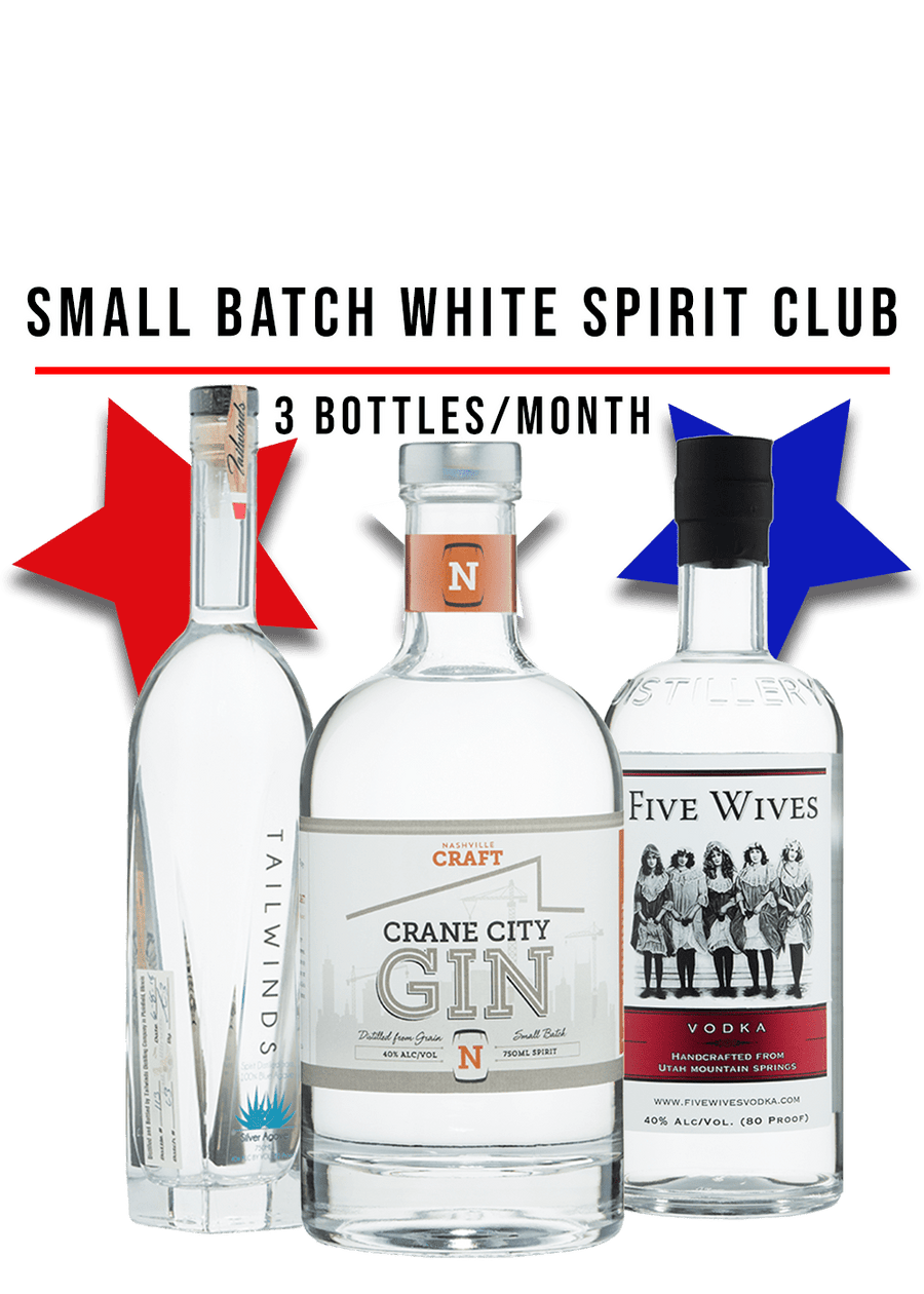 Small Batch White Spirits Club