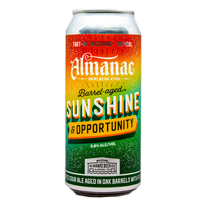 ALMANAC SUNSHINE AND OPPORTUNITY DRY HOPPED SOUR 16.oz