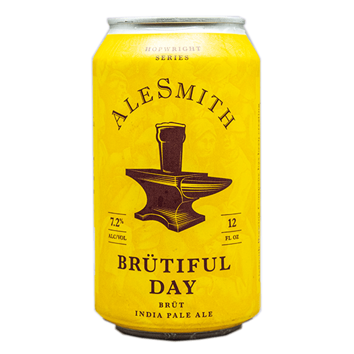 ALE SMITH BRUTIFUL DAY BRUT IPA 12.oz