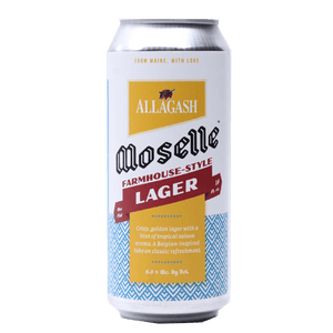 ALLAGASH MOSELLE FARMHOUSE LAGER 16.oz