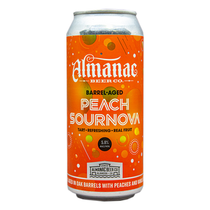 ALMANAC BARREL AGED SOURNOVA PEACH SOUR 16.oz