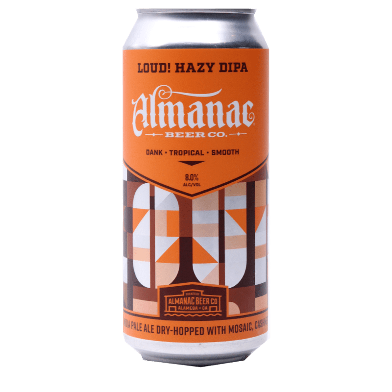 ALMANAC LOUD! HAZY DIPA 16.oz