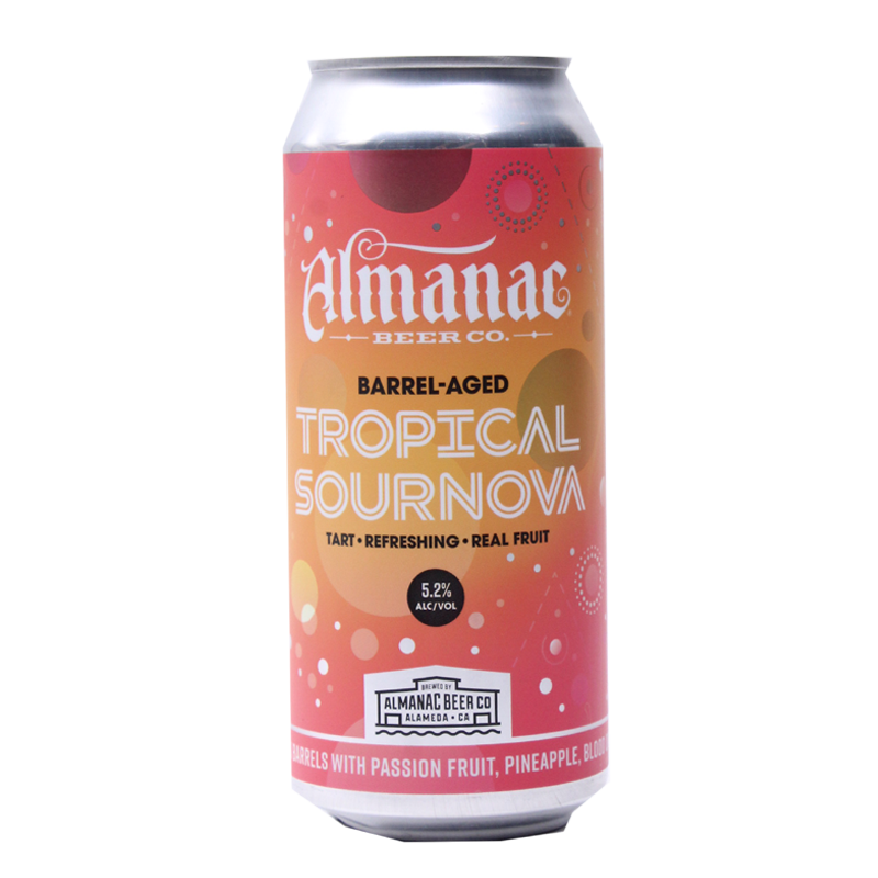 ALMANAC BARREL AGED TROPICAL SOURNOVA SOUR 16.oz