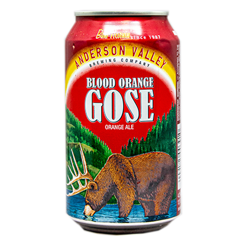 ANDERSON VALLEY BLOOD ORANGE GOSE 12.oz