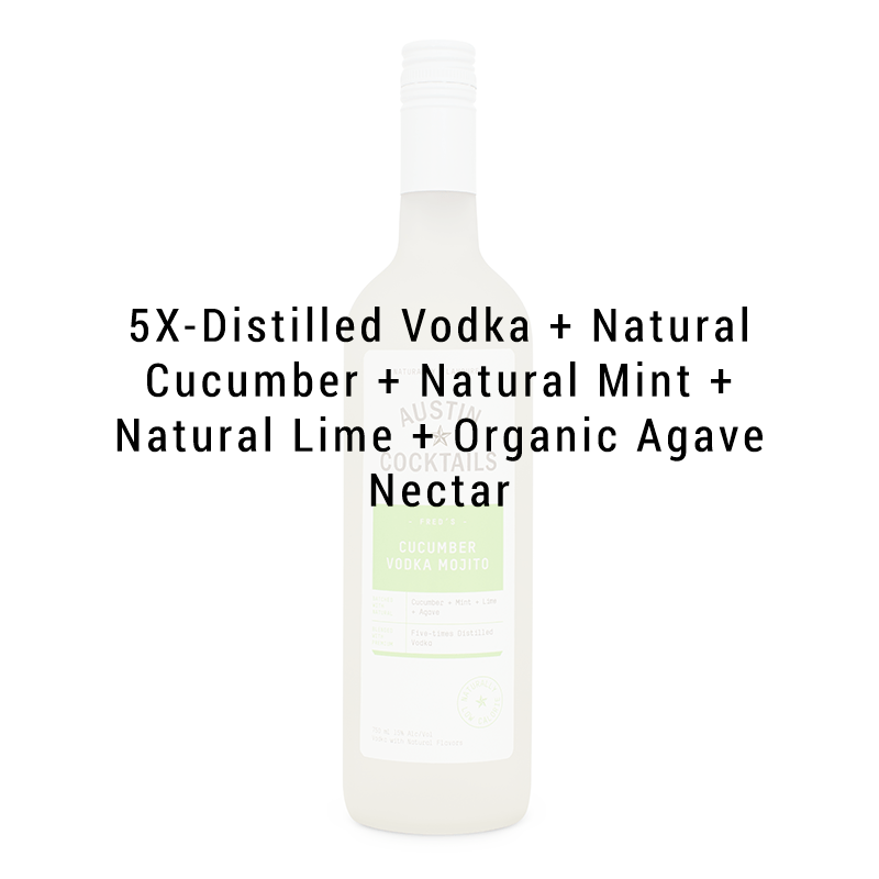 Austin Cocktails Cucumber Vodka Mojito 750ml