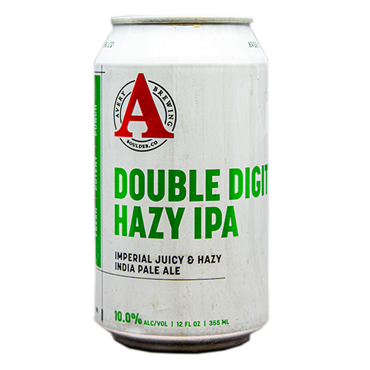 AVERY DOUBLE DIGIT HAZY IPA 12.oz