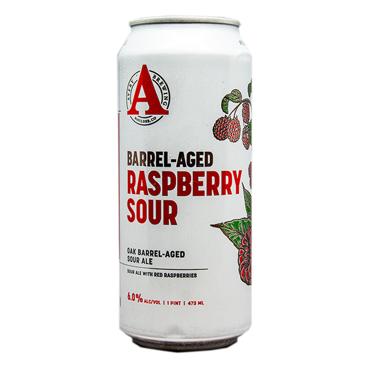AVERY BARREL-AGED RASBERRY SOUR 16.oz