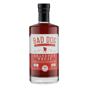 Bad Dog Distillery Grandpa's Wheat Whiskey 750mL great american craft spirits buy online