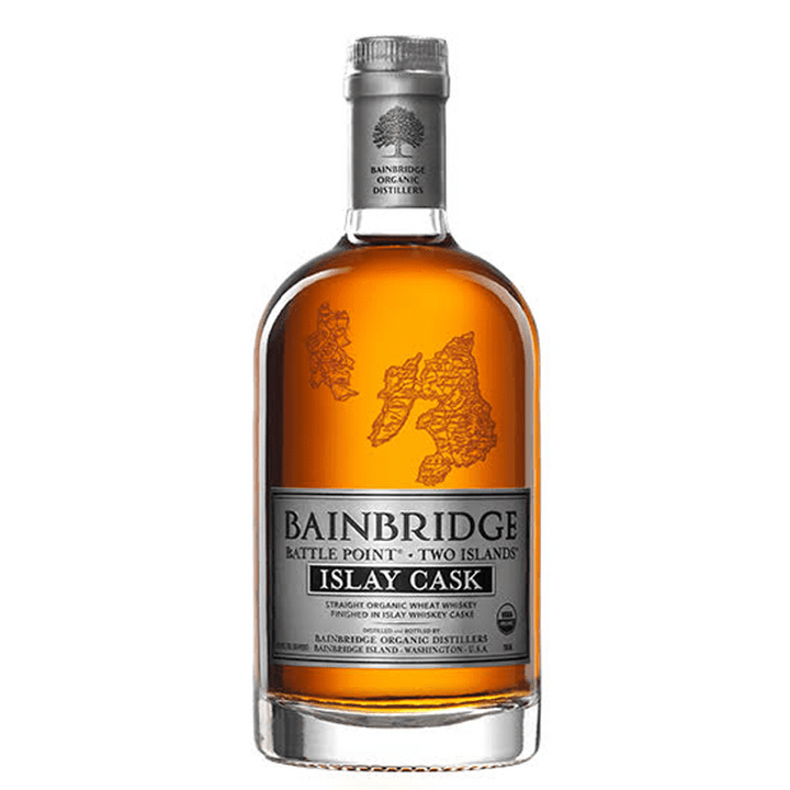Bainbridge Two Islands Islay Cask Organic Whiskey - 750 ML