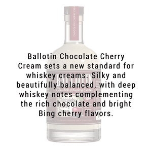 BALLOTIN CHOCOLATE CHERRY WHISKEY CREAM 750ml