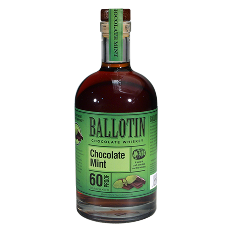 BALLOTIN CHOCOLATE MINT WHISKEY 750ml
