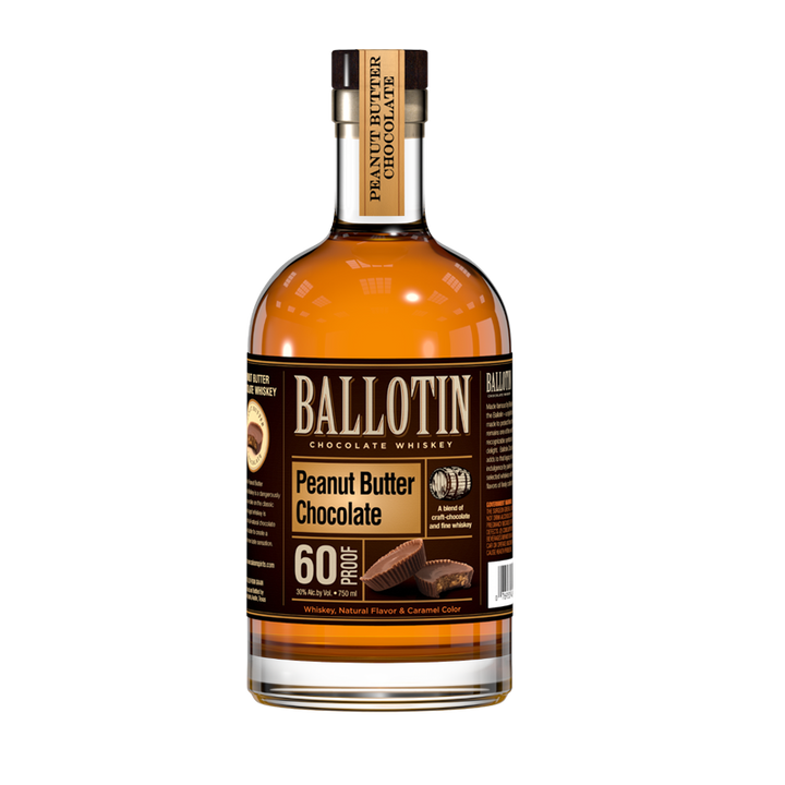 BALLOTIN PEANUT BUTTER CHOCOLATE WHISKEY 750ml
