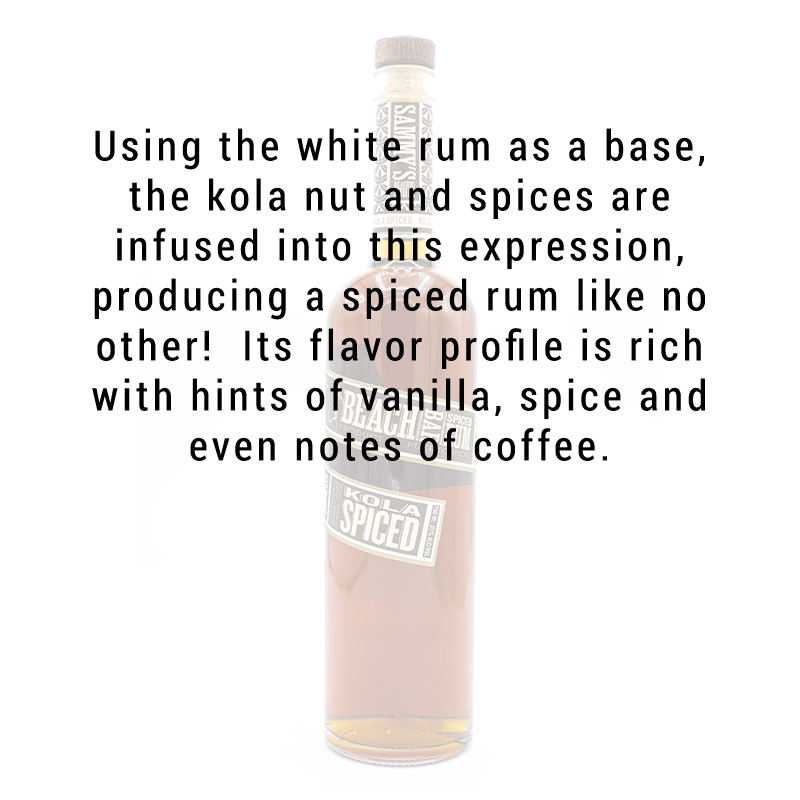 Sammy's Beach Bar Rum Kola Spiced 750mL