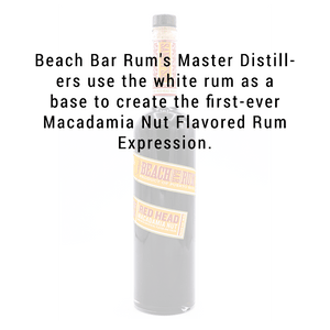 Sammy's Beach Bar Red Head macadamia Nut Rum 750mL