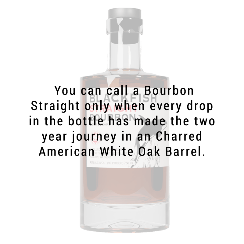 Blackfish Spirits Distillery Straight Bourbon 750mL