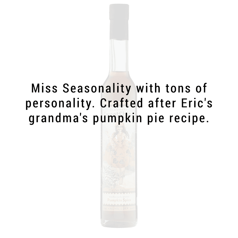 Bloomery SweetShine Pumpkin Spice Cocktail Liqueur 375mL