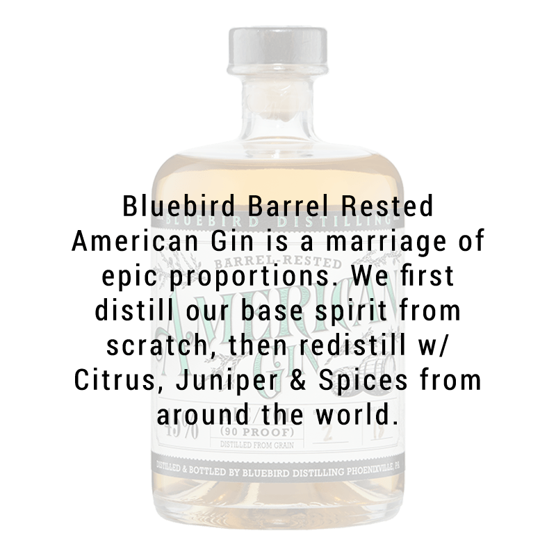 Bluebird Distilling Barrel Rested American Gin 750 ML