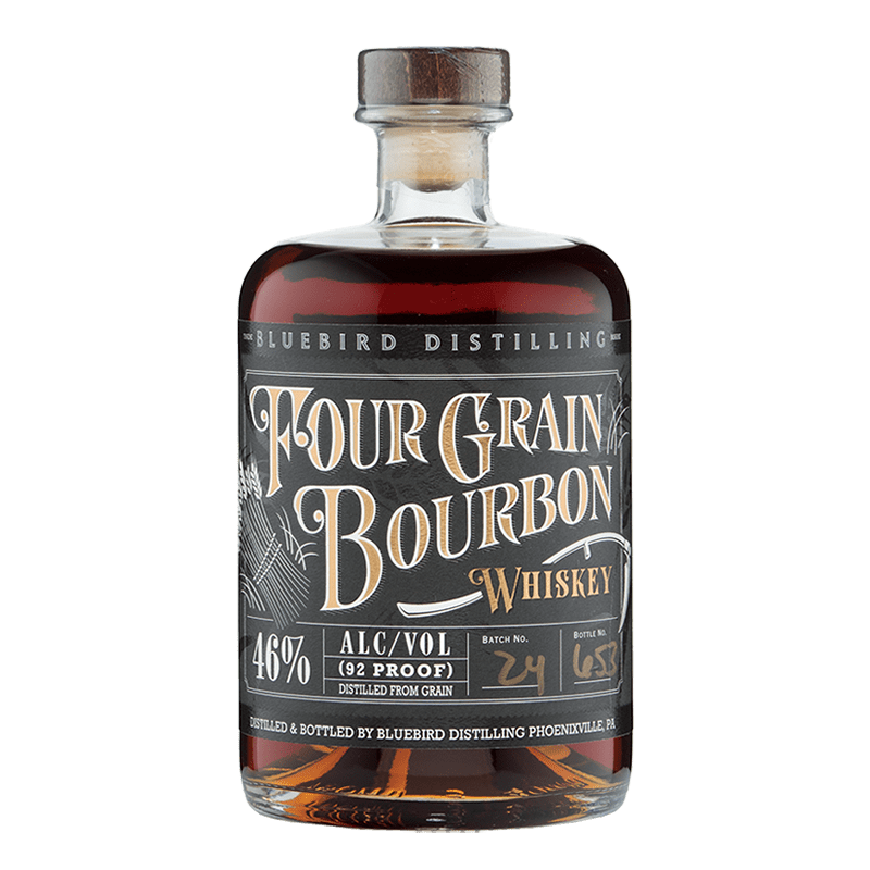 Bluebird Distilling Four Grain Bourbon 750ML