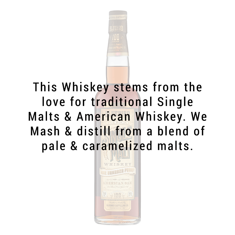 Bluebird Distilling American Single Malt Whiskey 750mL