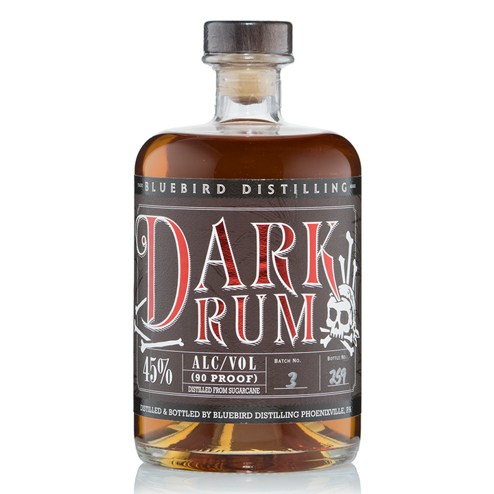 Bluebird Distilling Dark Rum 750ML