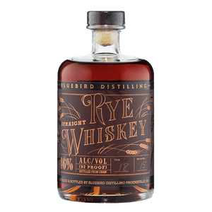 Bluebird Distilling Straight Rye Whiskey 750ML
