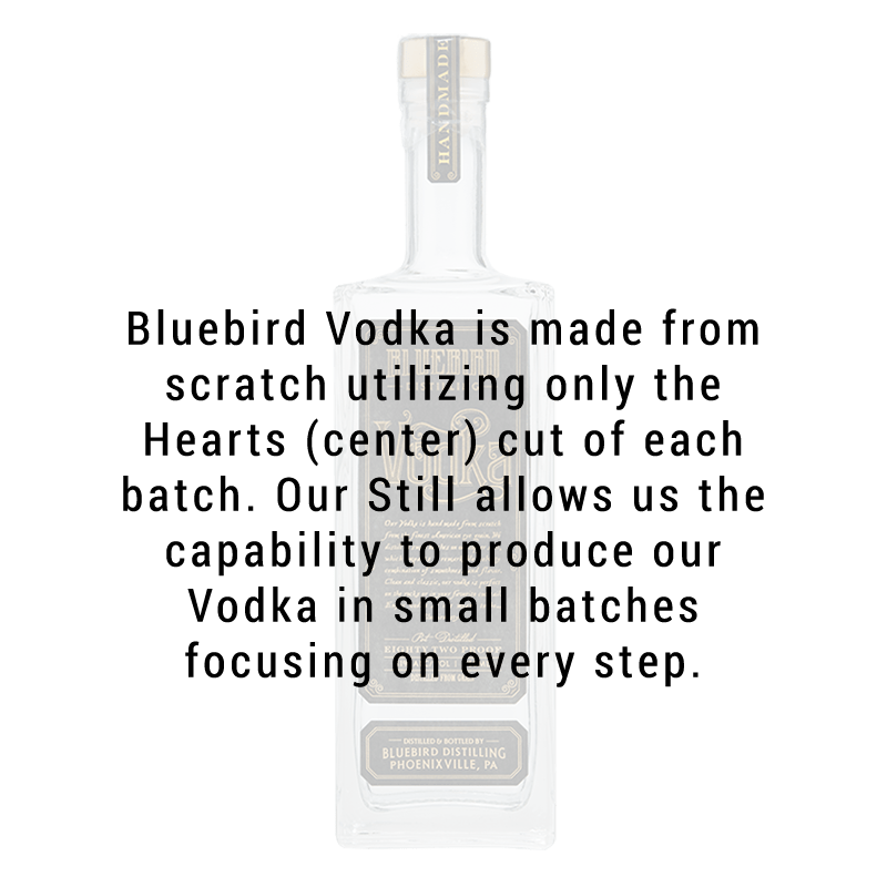 Bluebird Distilling Vodka 750ML