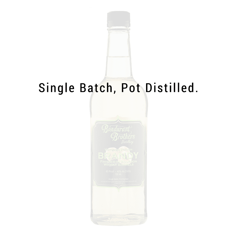 Bondurant Brothers Virginia Peach Brandy 750mL