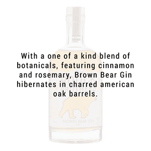 Bouck Brothers Brown Bear Gin 750ml