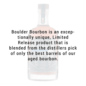 Boulder Spirits Straight Bourbon Whiskey 750mL