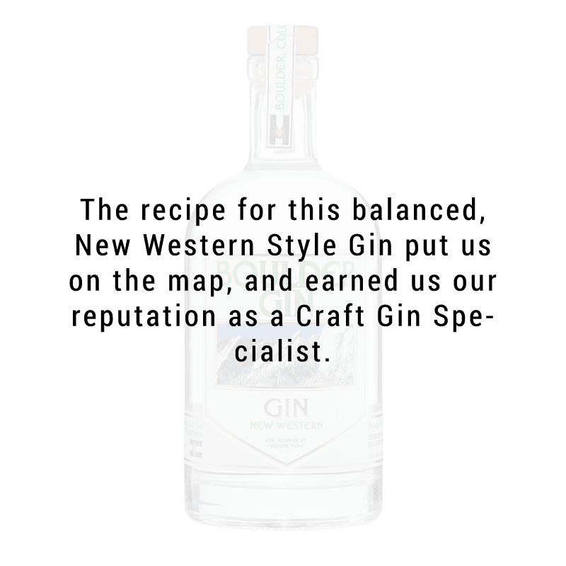 Boulder Spirits Gin 750mL
