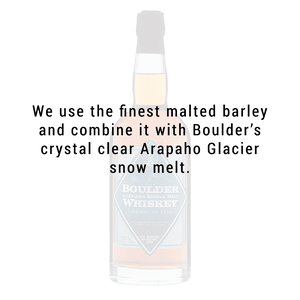 Boulder Spirits  American Single Malt Whiskey 750mL