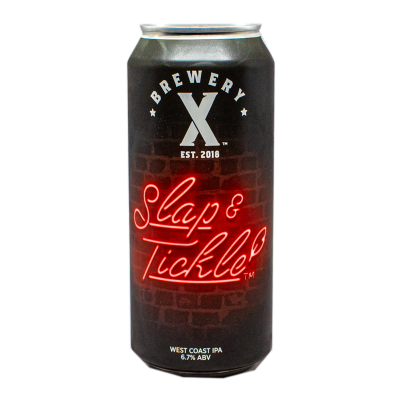 Brewery X Slap & Tickle IPA 16.oz