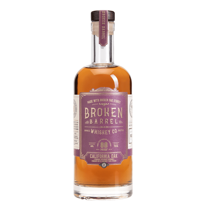 INFUSE SPIRITS BROKEN BARREL CALIFORNIA OAK WHISKEY 750ml