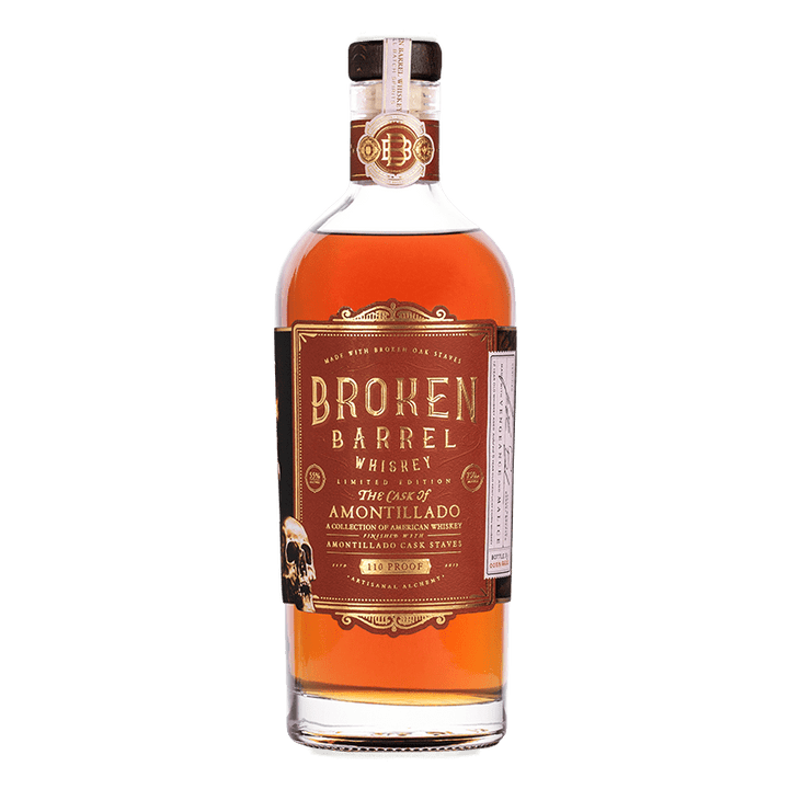 INFUSE BROKEN BARREL AMONTILLADO WHISKEY 750ml