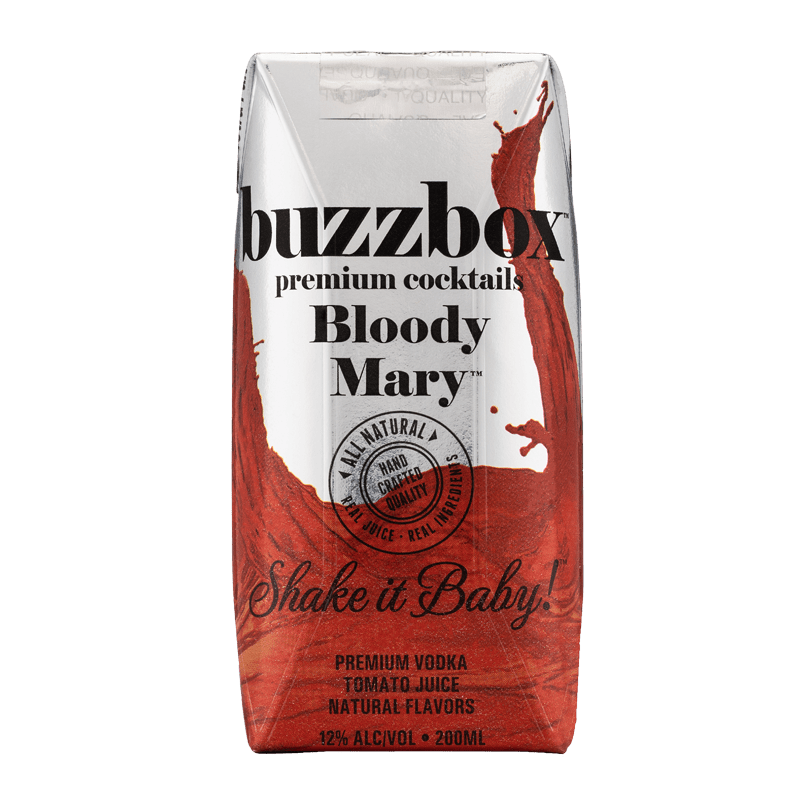 Buzzbox Premium cocktails Bloody Mary cocktail 24 Pack