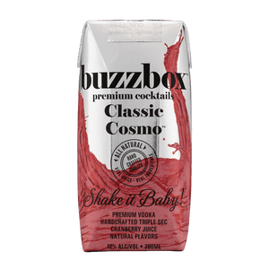 Buzzbox Premium cocktails Classic Cosmo cocktail 24 Pack