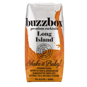 Buzzbox Premium cocktails Long Island cocktail 24 Pack