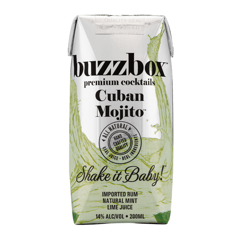 Buzzbox Premium cocktails Cuban Mijto cocktail 24 Pack