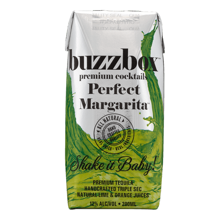 Buzzbox Premium cocktails Perfect Margarita cocktail 24 Pack