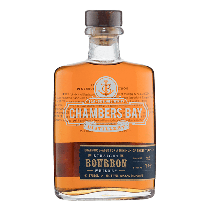 Chambers Bay Distillery Straight Bourbon Whiskey 375mL buy online great american craft spirits