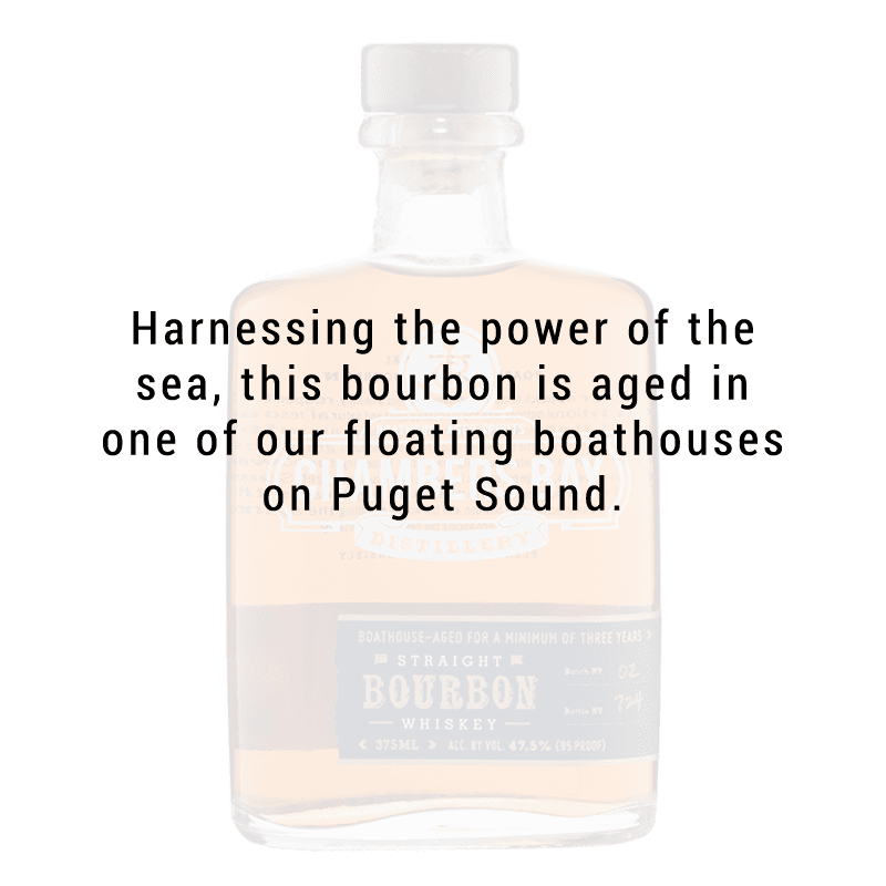 Chambers Bay Distillery Straight Bourbon Whiskey 375mL