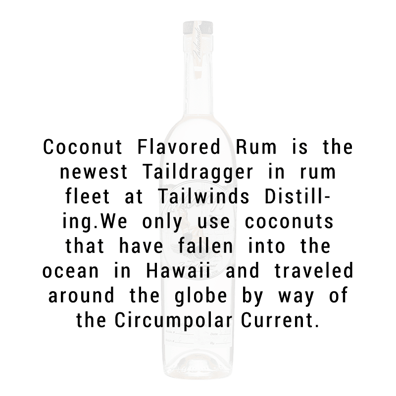 Tailwinds Taildragger Torched Coconut Rum 750ml