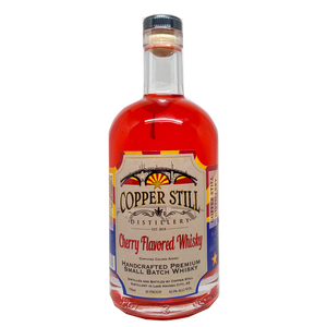 Copper Still Distillery Cherry Flavored Whisky 750mL