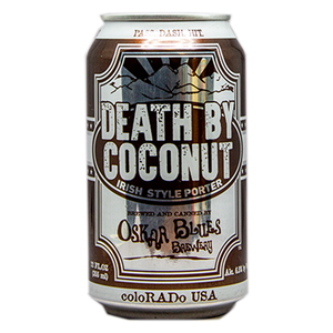 OSKAR BLUES DEATH BY COCONUT IRISH PORTER 12.oz